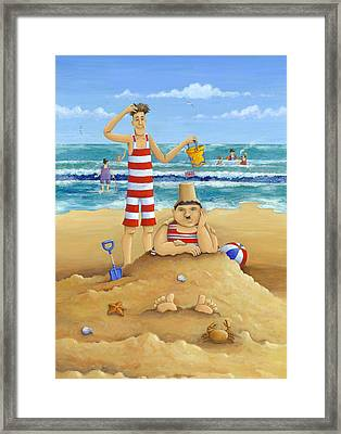 Another Fine Mess Framed Print by Peter Adderley