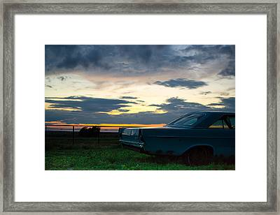 Another Ford Sunset Framed Print