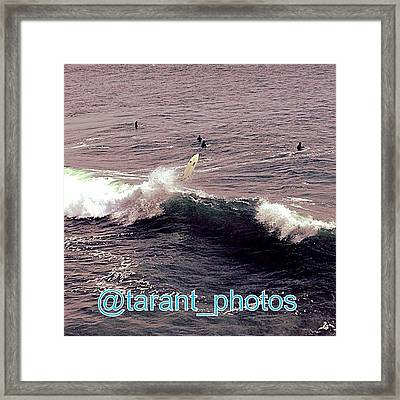 Another Great Shot From Earlier Framed Print