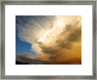 Another Incredible Cloud Framed Print by Joyce Dickens