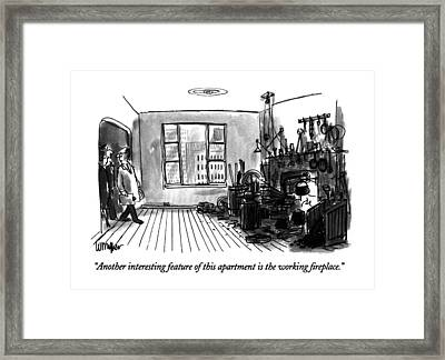 Another Interesting Feature Of This Apartment Framed Print by Warren Miller