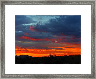 Another Masterpiece Created By The Hand Of Our Creator. Framed Print