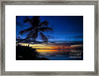Another Night In Paradise Framed Print by Rene Triay Photography