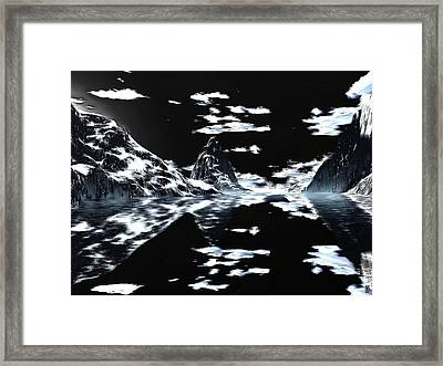 Another Nightland View Framed Print by Mario Carini