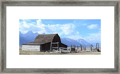Another Old Barn Framed Print by Kathleen Struckle