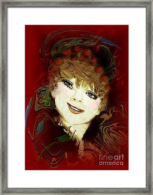 Another Pretty Face Framed Print by Doris Wood