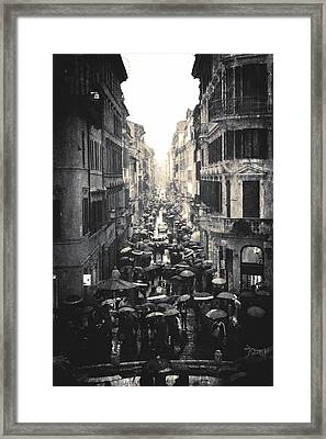 Another Rainy Day Framed Print by Steven  Taylor