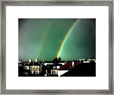 Another Scottish Rainbow Framed Print
