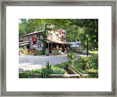 Another Side Of The Story Indiana Framed Print