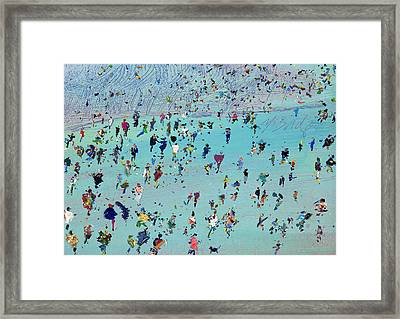 Another Sudden Gust Framed Print by Neil McBride