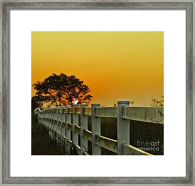 Another Tequila Sunrise Framed Print by Robert Frederick
