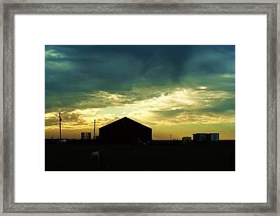 Another Texas Sky Framed Print