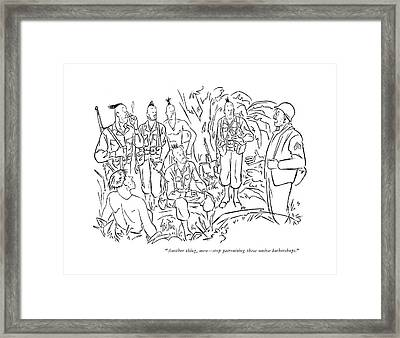 Another Thing Framed Print