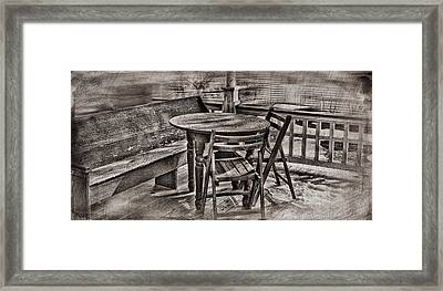 Another Time And Place Framed Print by Kathy Jennings