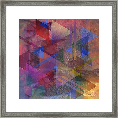 Another Time - Square Version Framed Print