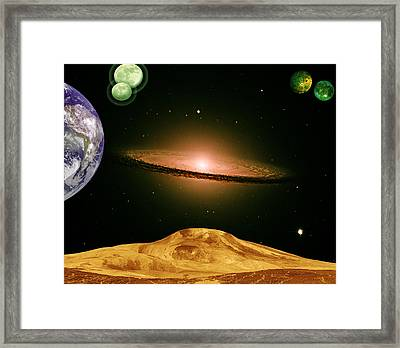 Another View Framed Print