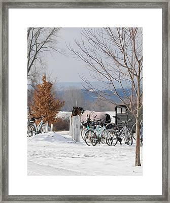 Another Way Of Life Framed Print