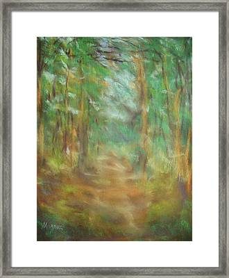 Framed Print featuring the photograph Another Way by Shirley Moravec