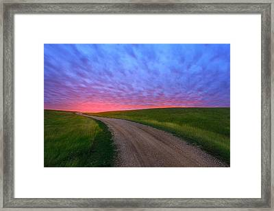 Another Way To Heaven Framed Print