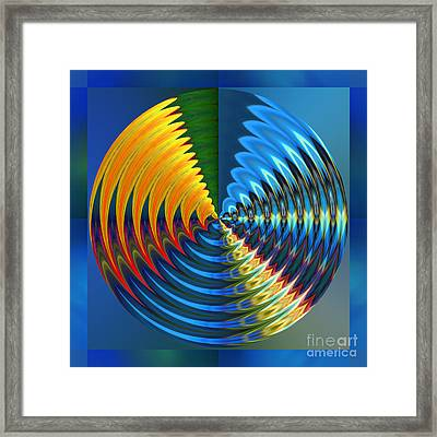 Another Wheel Of Life Framed Print