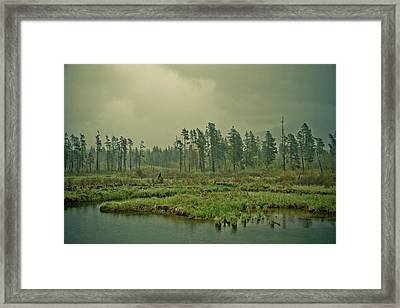 Another World-another Time Framed Print by Eti Reid