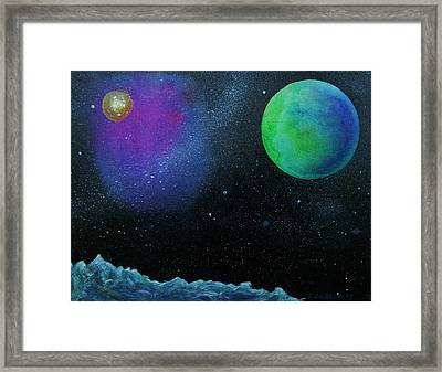 Another World - Sold Framed Print by Lou Cicardo