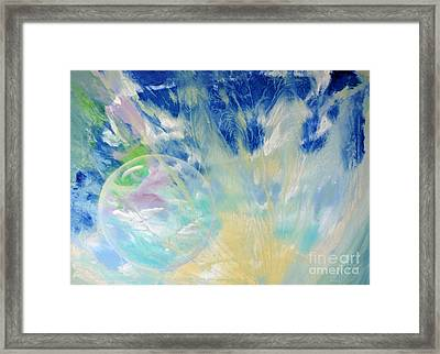 Another World Framed Print by Valia US