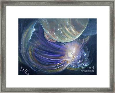 Another World10 Framed Print by Valia US