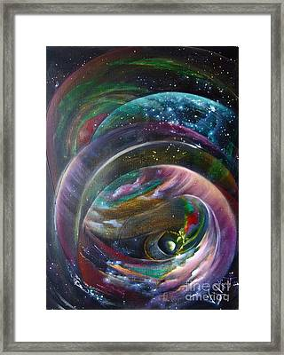 Another World13 Framed Print by Valia US