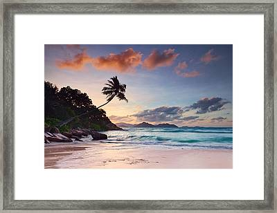 Anse Severe Framed Print by Michael Breitung
