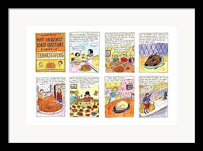 Sonoma Drawings Framed Prints