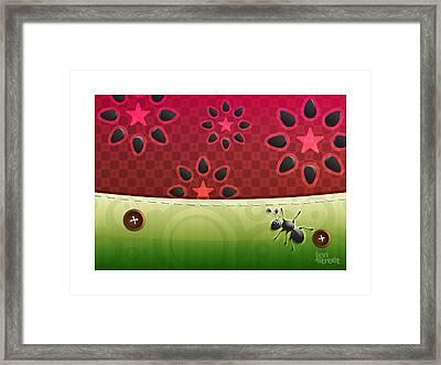 Ant Ticipation Framed Print