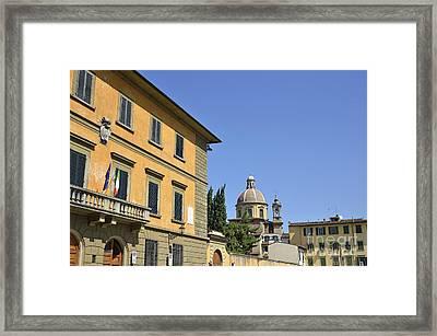 anta Maria del Carmine church Framed Print