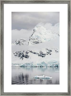 Antarctic Coast Framed Print