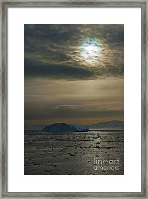Antarctic Colors... Framed Print by Nina Stavlund