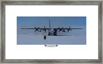 Antarctic Hercules Framed Print by David Barringhaus