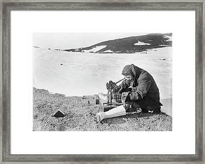 Antarctic Navigation Observations Framed Print