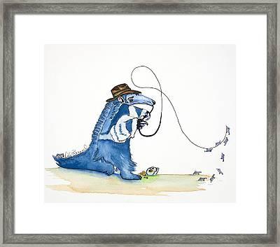 Antdiana Anteater Framed Print