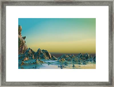 Ante Somnum - Surrealism Framed Print by Sipo Liimatainen