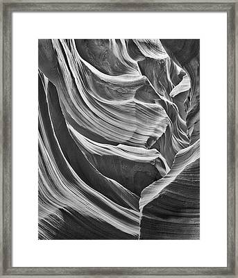 Antelope Arcade Lower Antelope Canyon Framed Print