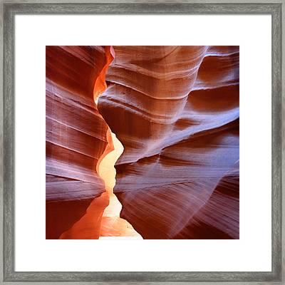 Antelope Canyon 1 Framed Print by Julie Niemela