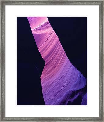 Antelope Canyon 10 Framed Print by Jeff Brunton