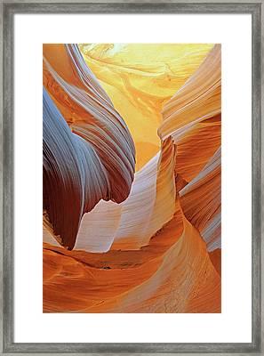 Antelope Canyon Framed Print by Bildagentur-online/mcphoto-schulz