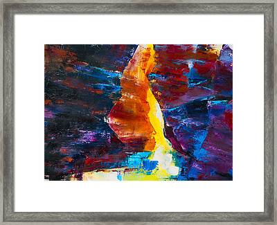 Antelope Canyon Light Framed Print