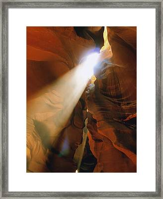 Antelope Canyon One Framed Print