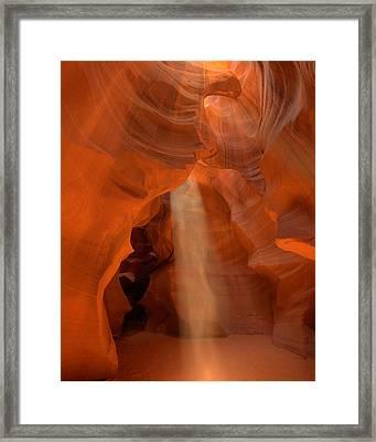Antelope Canyon Spirit Dance-11 Framed Print