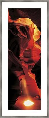 Antelope Canyon, Utah, Usa Framed Print by Panoramic Images