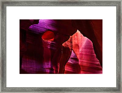 Antelope Canyon's Winnie The Pooh Framed Print by Gregory Ballos