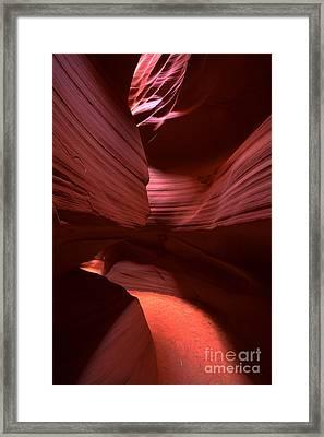 Antelope Curves  Framed Print