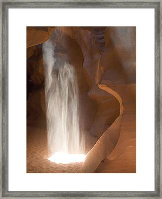 Antelope Ghost Framed Print by Phil Stone